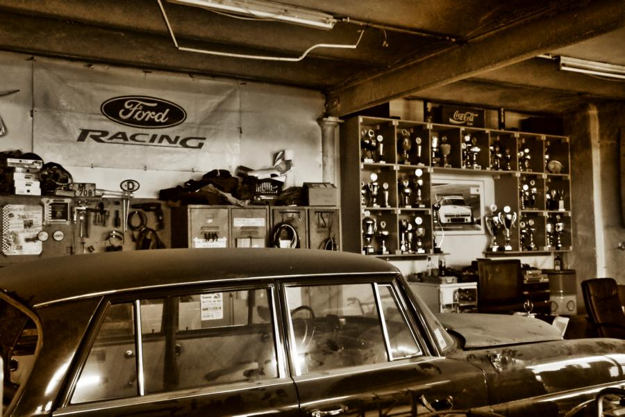 Garage HDR