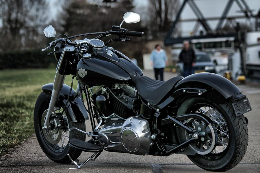 Umbau Softail | LacoursGarage