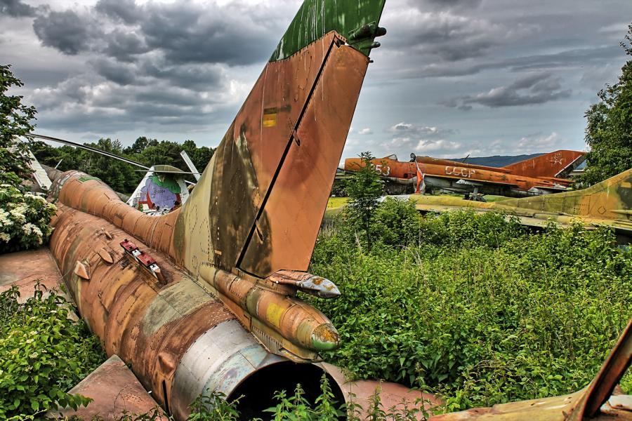 Flugzeugfriedhof HDR