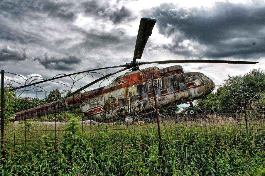 Hubschrauber 2 HDR