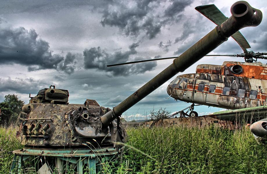 Panzerturm HDR