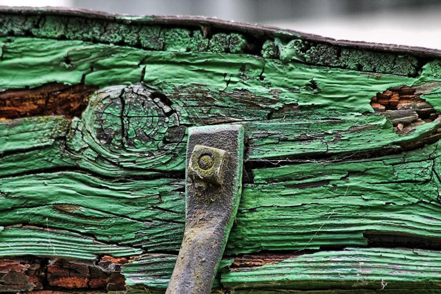 Schraube und Holz HDR