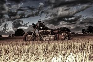 Harley min Farbe HDR